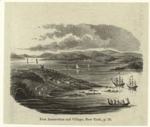 print of Fort Amsterdam