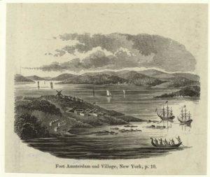 print of Fort Amsterdam