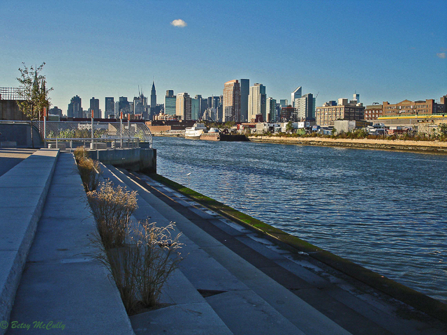 photo of Newtown Creek Nature Walk steps