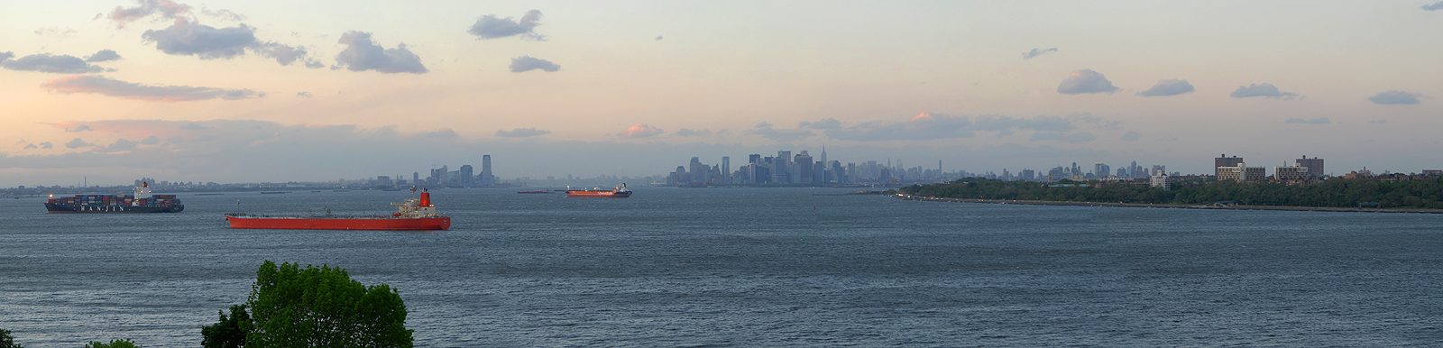 photo of New York Harbor from Staten Island
